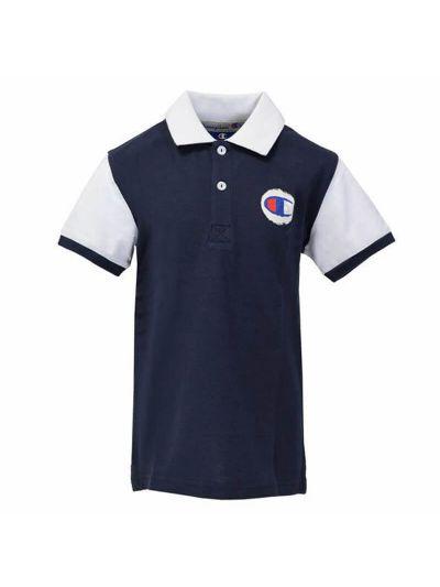 Otroška polo majica Champion® 304714 kratek rokav - temno modra BLI