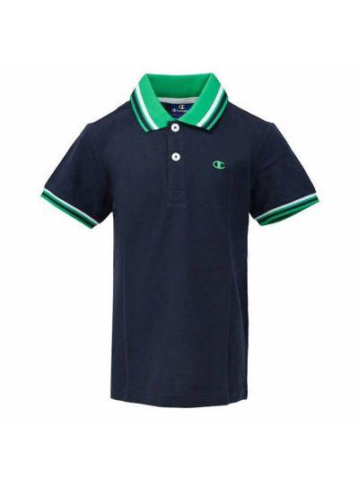 Otroška polo majica Champion® 304608 kratek rokav - temno modra BLI