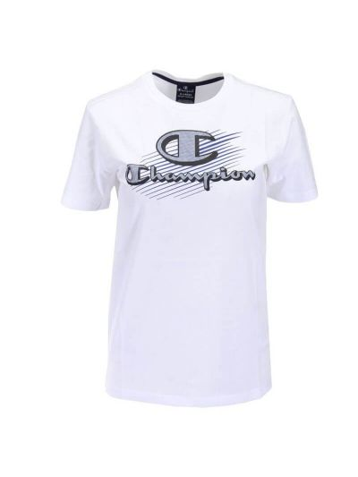 Otroška športna majica Champion GRAPHIC 305332 - bela