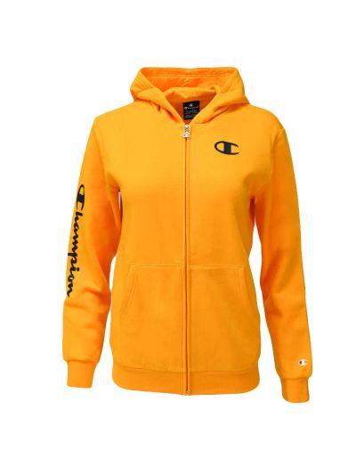 Otroška jopa s kapuco Champion ® 305359 - oranžna