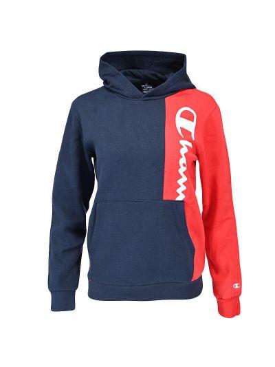 Otroški pulover s kapuco Champion ® TWO TONE 305759 - navy / rdeč