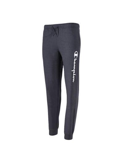 Otroške dolge hlače s patentom Champion 305363 - temno sive