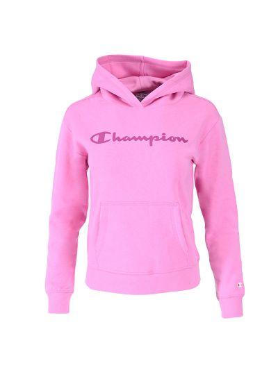 Dekliški hoodie Champion ® 403914 - neon roza