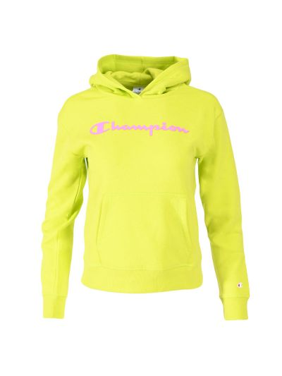 Dekliški hoodie Champion ® 403914 - neon zelen