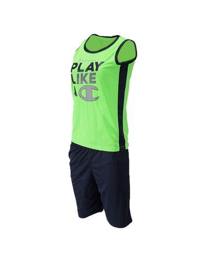 Otroški športni komplet brez rokavov Champion® 305929 - zelen