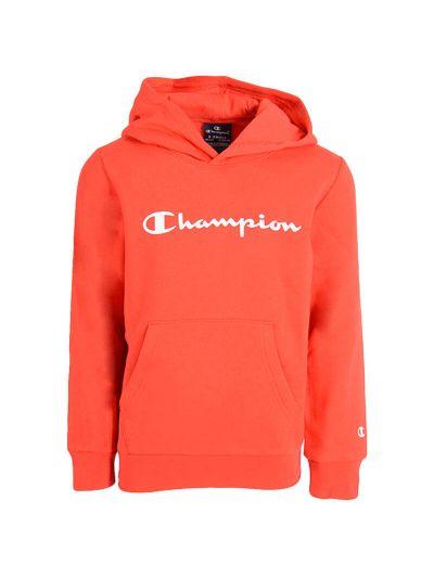 Otroški pulover s kapuco Champion 305358 - rdeč