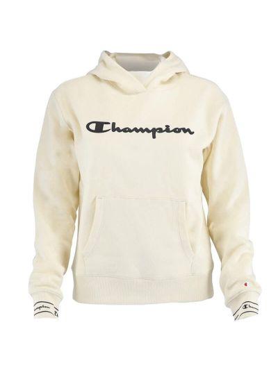 Dekliški pulover s kapuco Champion® 403654 - bež