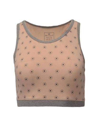 Ženski športni nederček Champion® 111537 - pastelno roza print