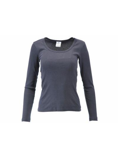 Ženska majica Champion® C110851 dolg rokav navy