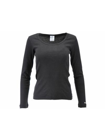 Ženska majica Champion® C110851 dolg rokav črna
