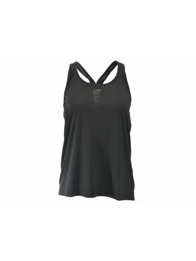 Ženska športna majica Champion® 110246 brez rokavov črna