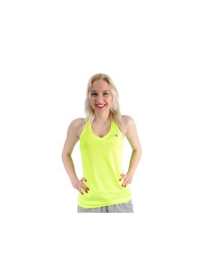 Ženska majica brez rokavov Champion® C109263 fluo rumena SYF