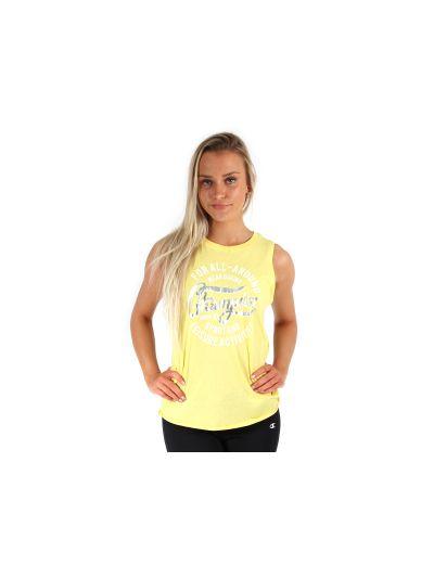 Ženska majica brez rokavov Champion® C109288 rumena YCR