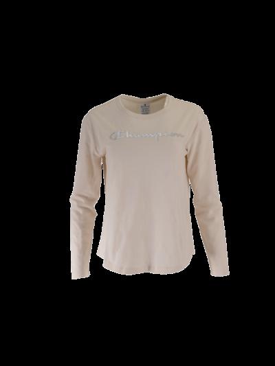 Ženska športna majica dolg rokav Champion® C111964 - bež