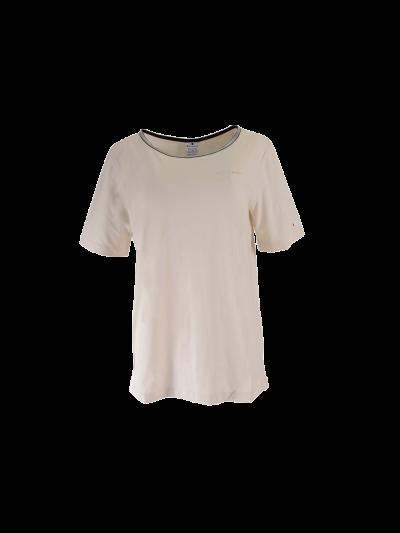 Ženska športna majica kratki rokavi Champion® C112119 - bež