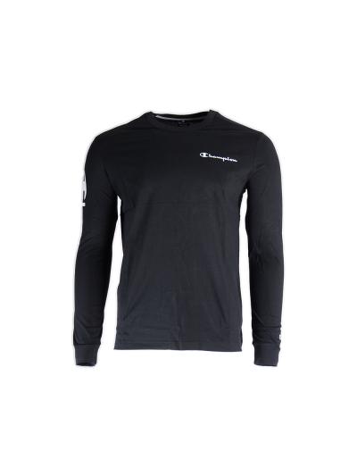Moška majica Champion® dolg rokav C213470 - črna