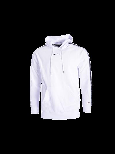 Moški pulover s kapuco Champion® C214225 - bela