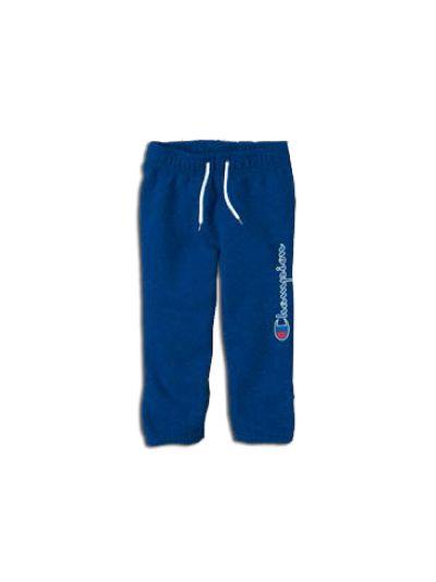Baby dolge hlače Champion® 501476 za fantke, ribcuff, modre CBT