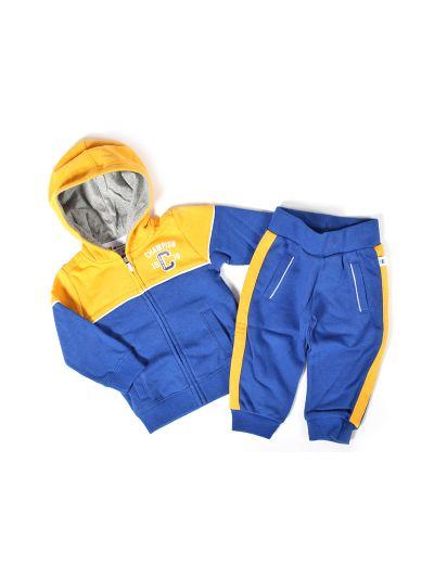 Baby komplet Champion® 501562 za fantke, jopica s kapuco, dolge hlače, mod/rum BVU/BVU