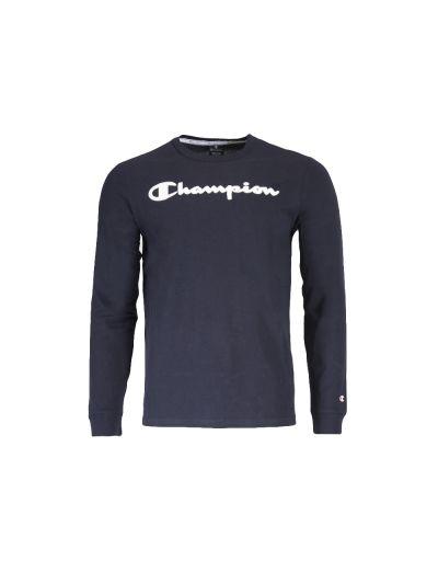 Moška majica Champion® dolg rokav C213482 - navy
