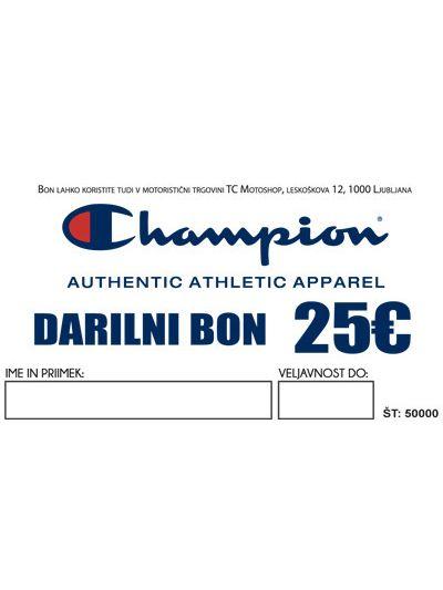 Darilni bon Champion | 25€