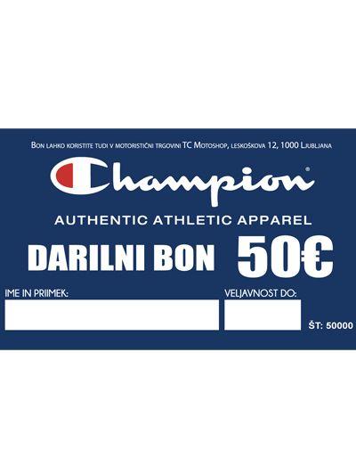 Darilni bon Champion | 50€