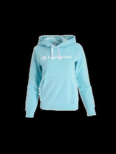 Ženski pulover Champion® s kapuco C112580 - mint