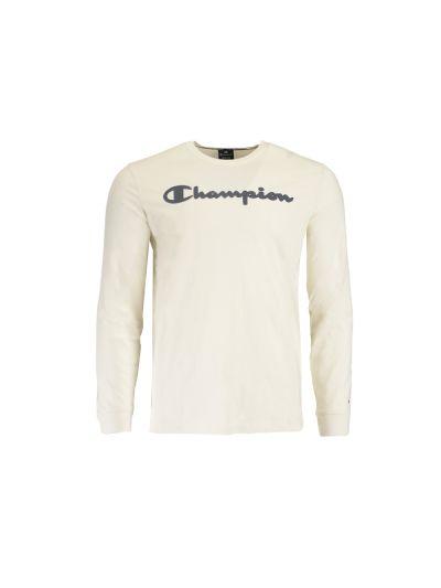 Moška majica Champion® dolg rokav C213482 - bež