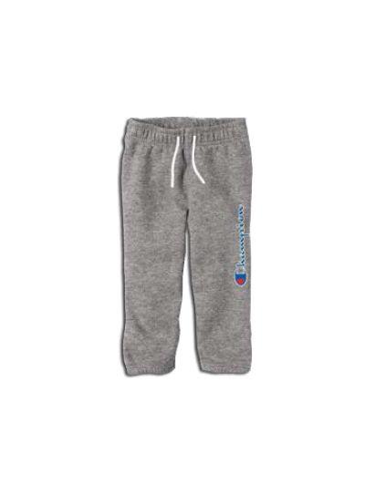 Baby dolge hlače Champion® 501476 za fantke, ribcuff, sive OXG