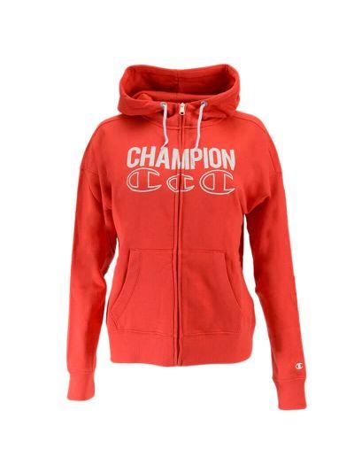Ženska jopica s kapuco Champion® C111929 - rdeča