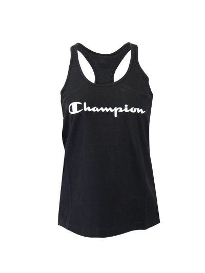 Ženska majica brez rokavov Champion 112607 - črna