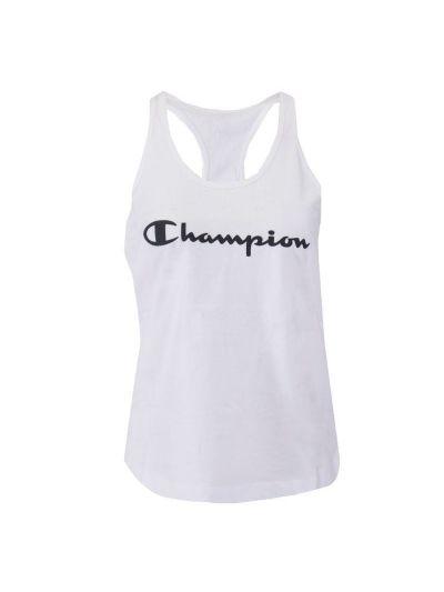 Ženska majica brez rokavov Champion 112607 - bela