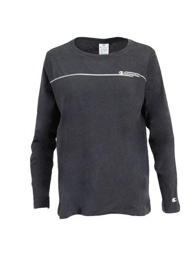 Ženska majica z dolgimi rokavi Champion 113450 - črna