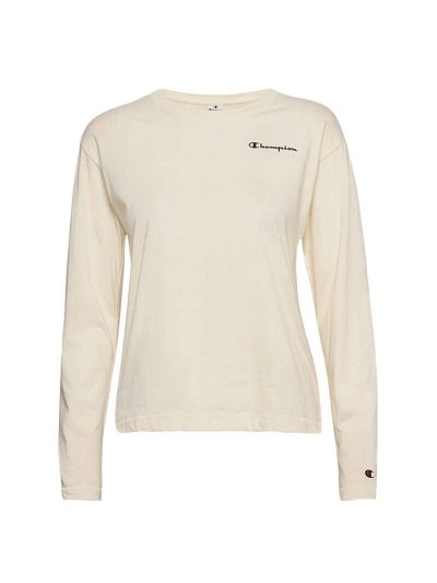 Ženska majica z dolgimi rokavi Champion® 113230 - bež