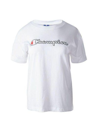 Ženska majica Champion ROCHESTER 112650 - bela