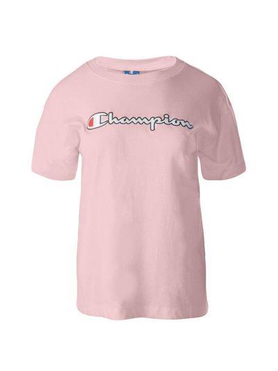 Ženska majica Champion ROCHESTER 112650 - pastelno roza