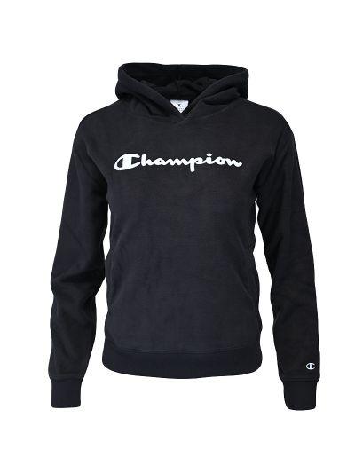 Dekliški pulover s kapuco Champion ® 404263 - črn