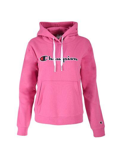 Ženski pulover s kapuco Champion ® ROCHESTER CHANGE 114461 - ciklam