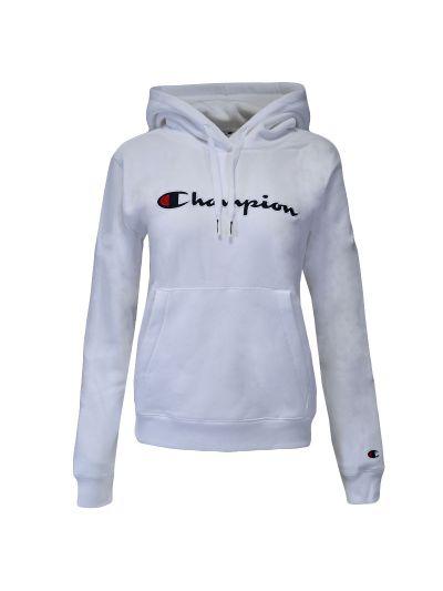 Ženski pulover s kapuco Champion ® ROCHESTER CHANGE 114461 - bel