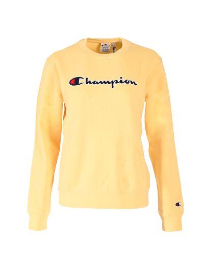 Ženski pulover Champion ® Rochester CHANGE 114462 - rumen