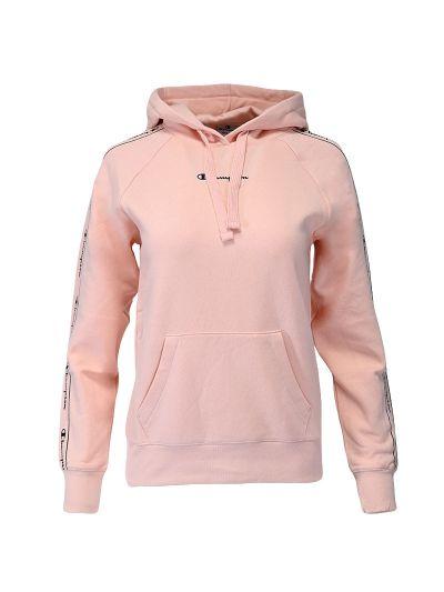Ženski pulover s kapuco Champion ® TAPE 114716 - roza