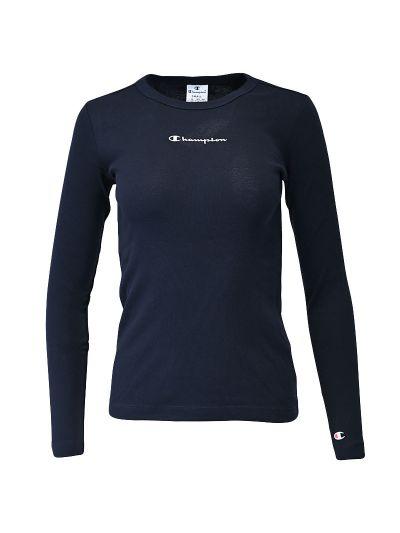 Ženska majica dolg rokav Champion ® 114435 - navy