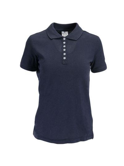 Ženska polo majica s kratkimi rokavi Champion 112612 - navy