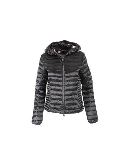 Ženska prehodna jakna s kapuco Champion 113894 - črna