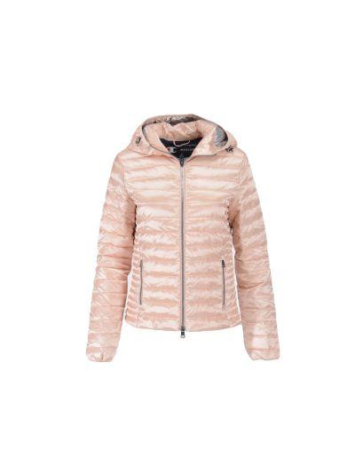 Ženska prehodna jakna s kapuco Champion 113894 - pastelno roza