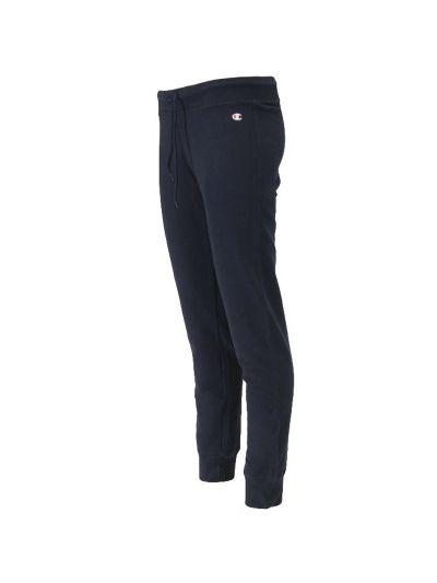 Ženske dolge hlače Champion na patent - navy