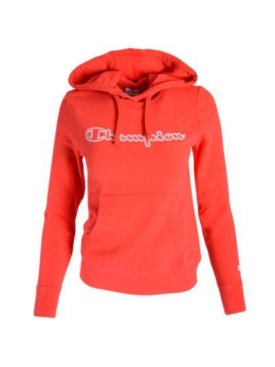 Ženski pulover s kapuco Champion® C112984 - rdeča