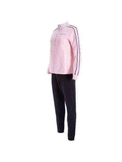 Ženski športni komplet Champion 112952 - pastelno roza / črn