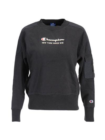 Ženski pulover Champion® ROCHESTER 113314 - črn