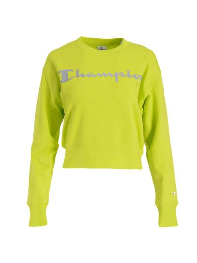Ženski pulover Champion® 113286 - fluo zelen